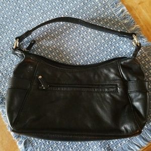 Black Wilson's leather bag